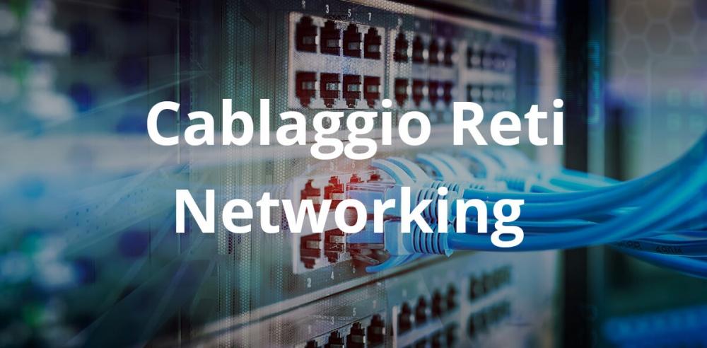 cablaggio reti networking livorno