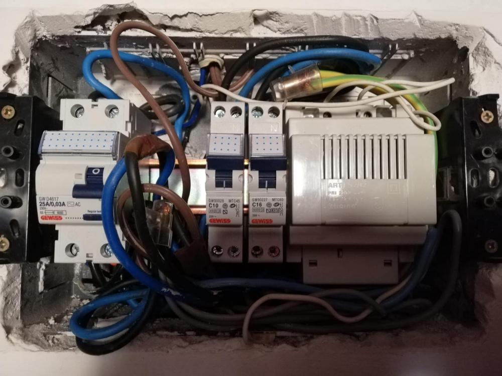 interruttore elettricista andrea gelli livorno